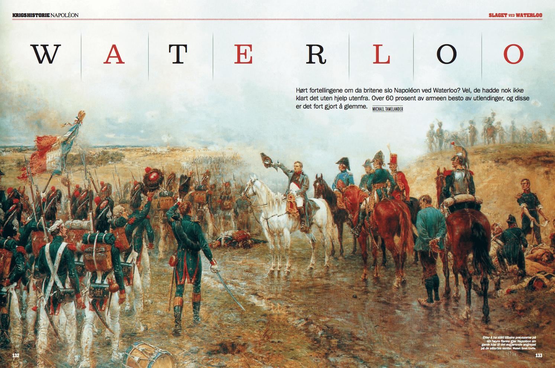 Waterloo, oppslag