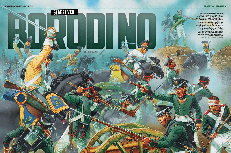 Slaget ved Borodino, oppslag