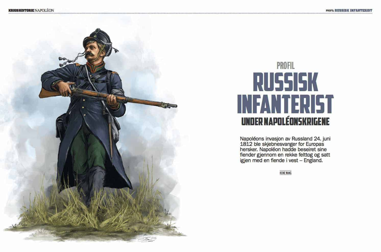 PROFIL: Russisk infanterist, oppslag