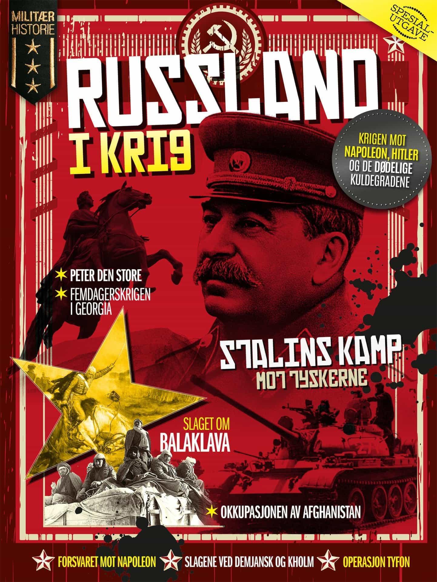 Cover Russland i krig