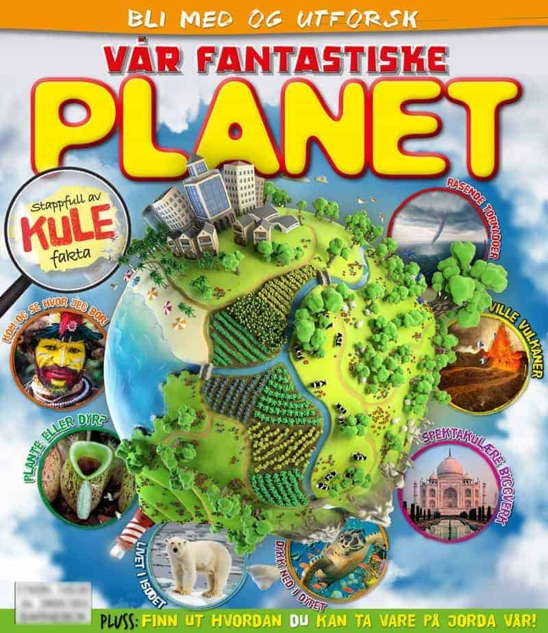 Vår fantastiske planet Cover