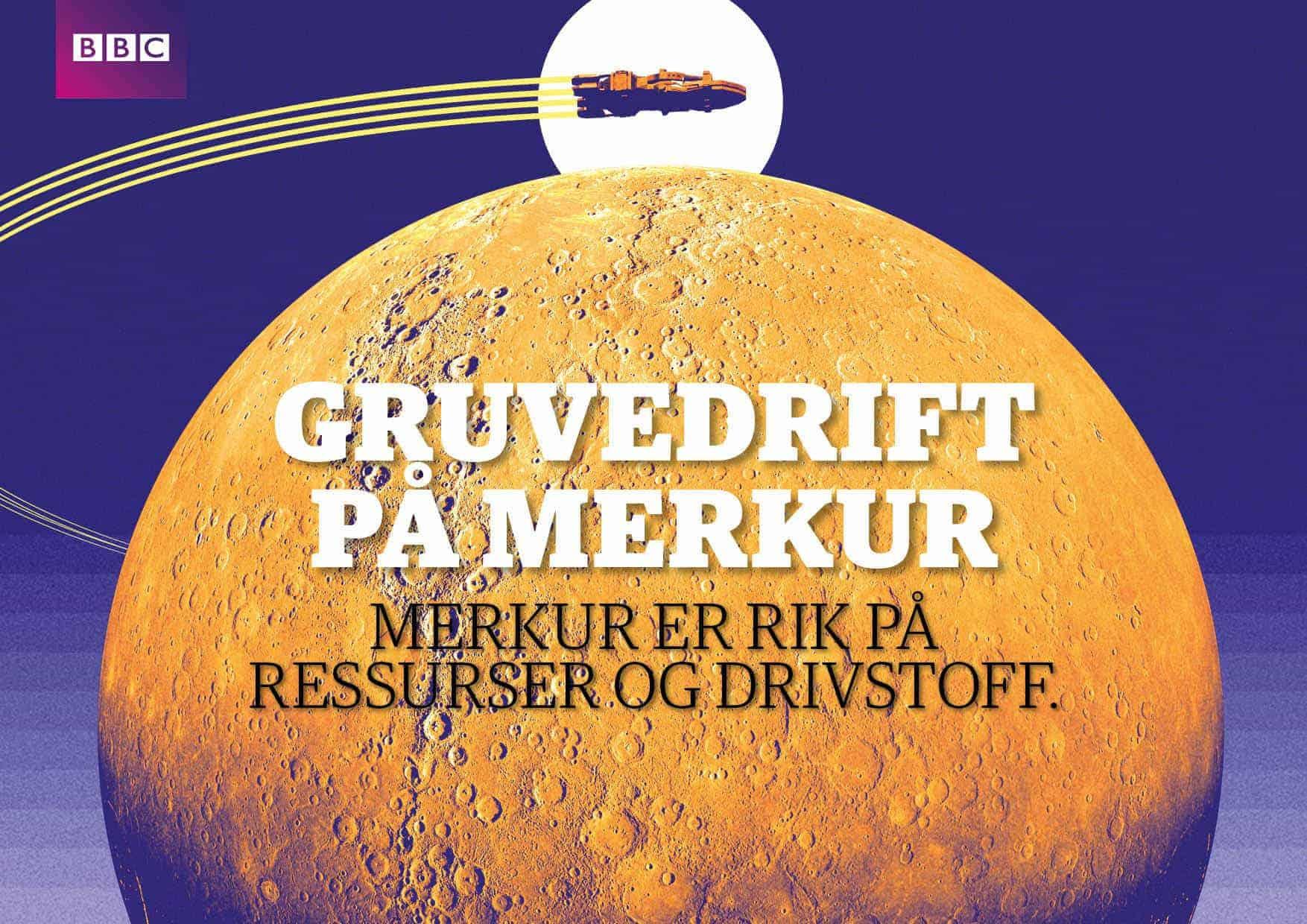 Gruvedrift på Merkur