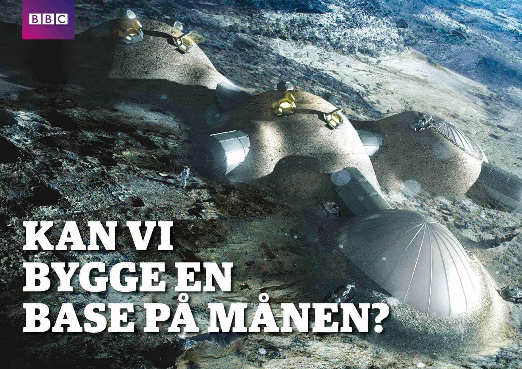 Kan vi bygge en base på månen?