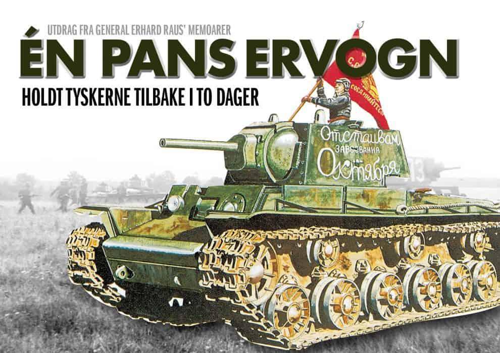 Én panservogn holdt tyskerne tilbake i to dager