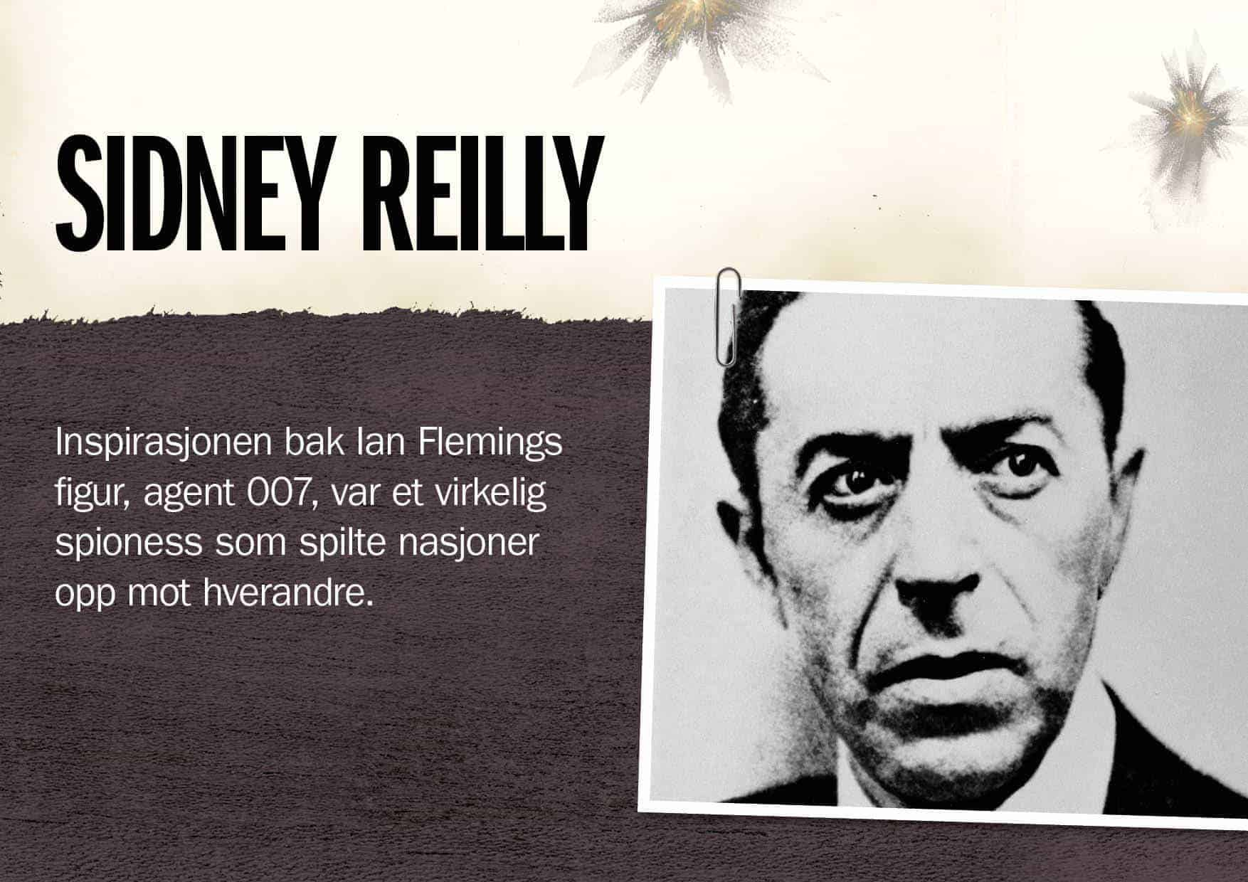 Superspioner: Sidney Reilly