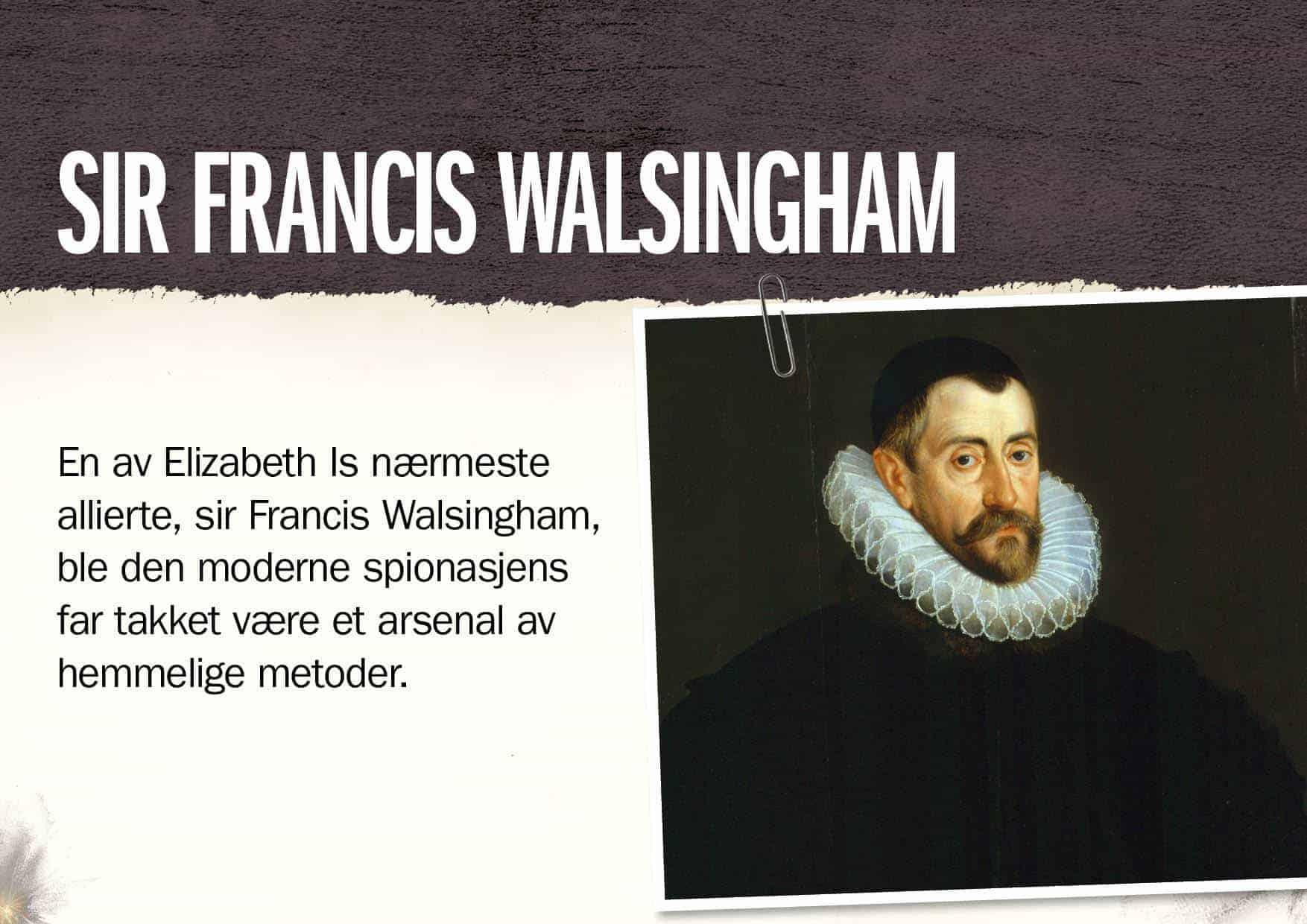 Superspioner: Sir Francis Walsingham