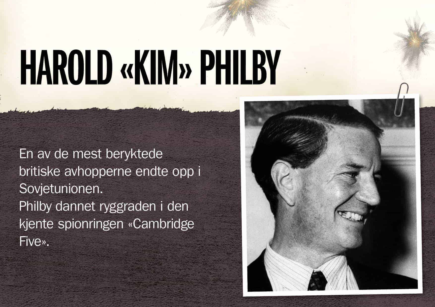 Superspioner: Harold «Kim» Philby