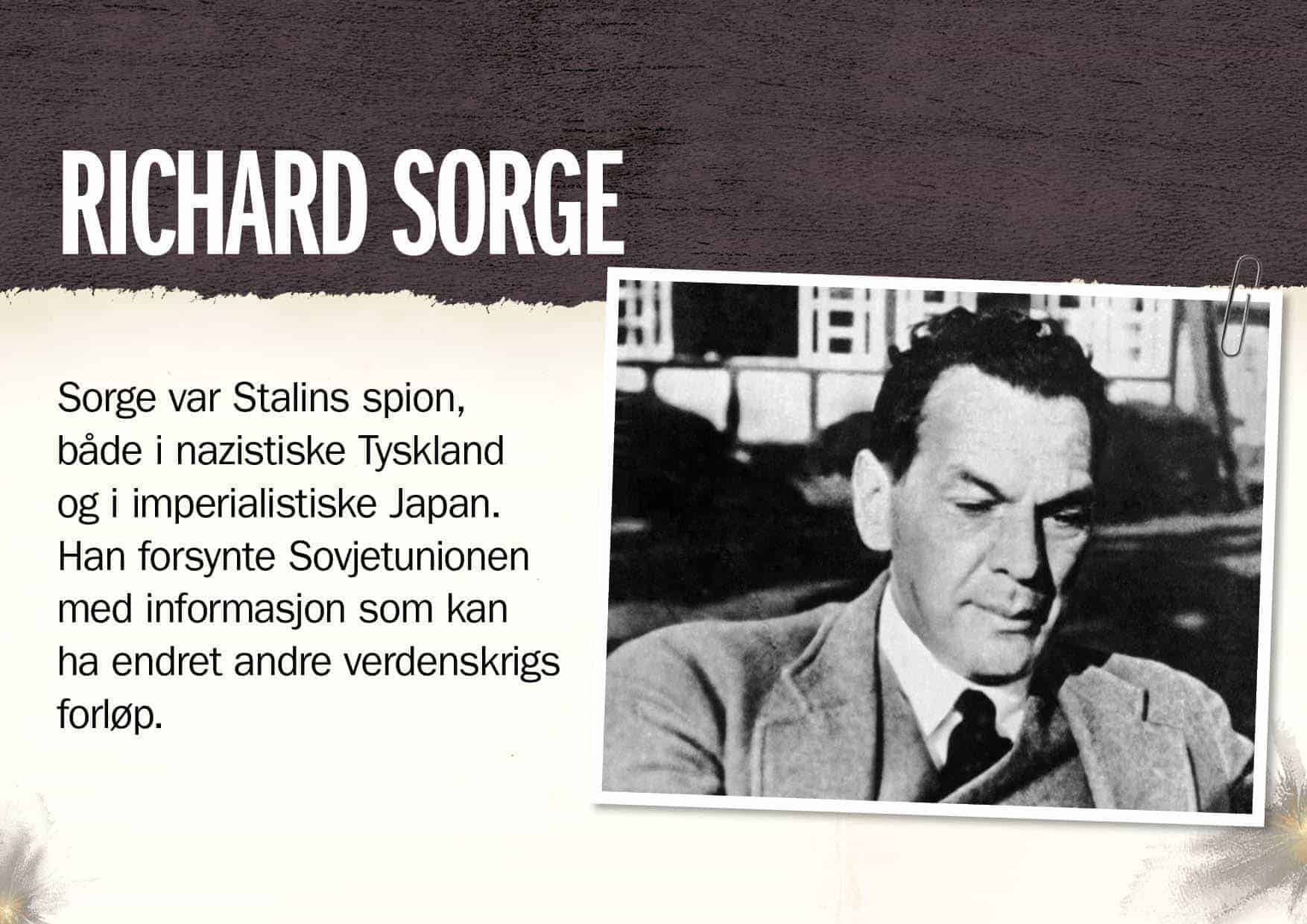 Superspioner: Richard Sorge