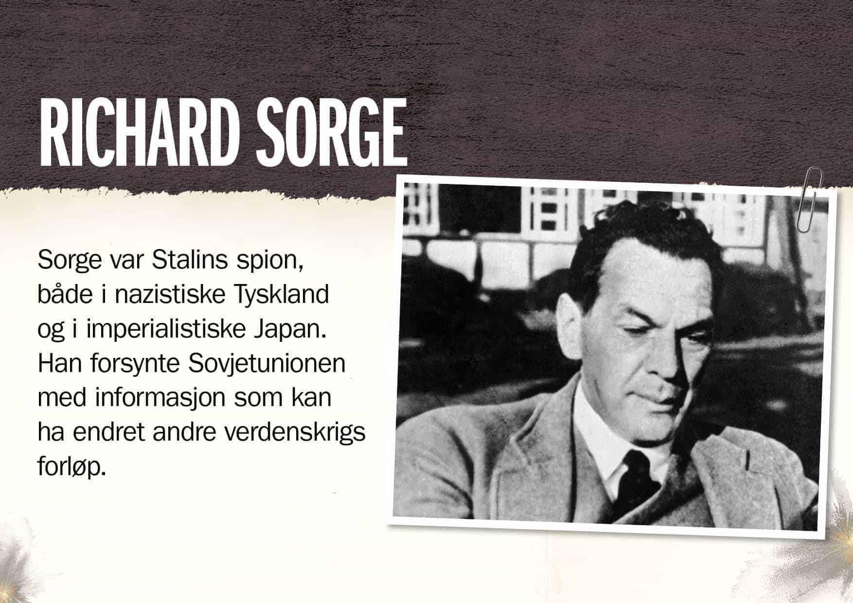 Superspioner: Richard Sorge