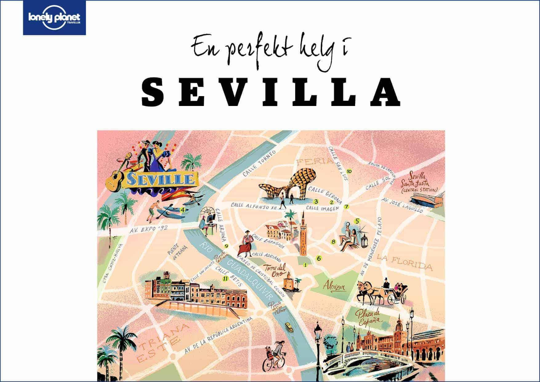 En perfekt dag i Sevilla