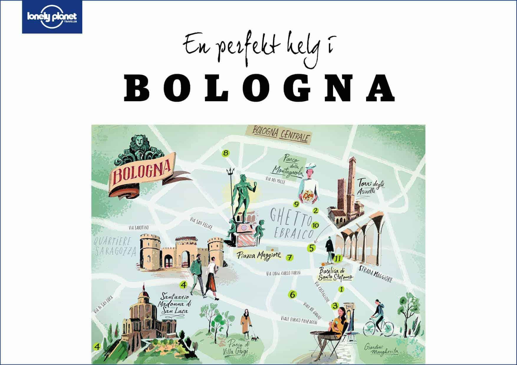 En perfekt helg i Bologna