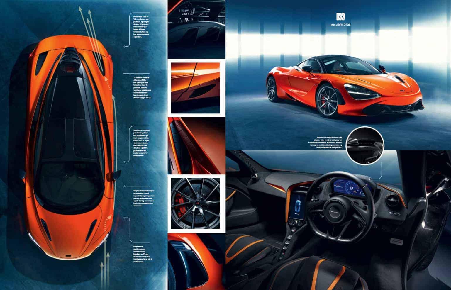 McLaren, oppslag