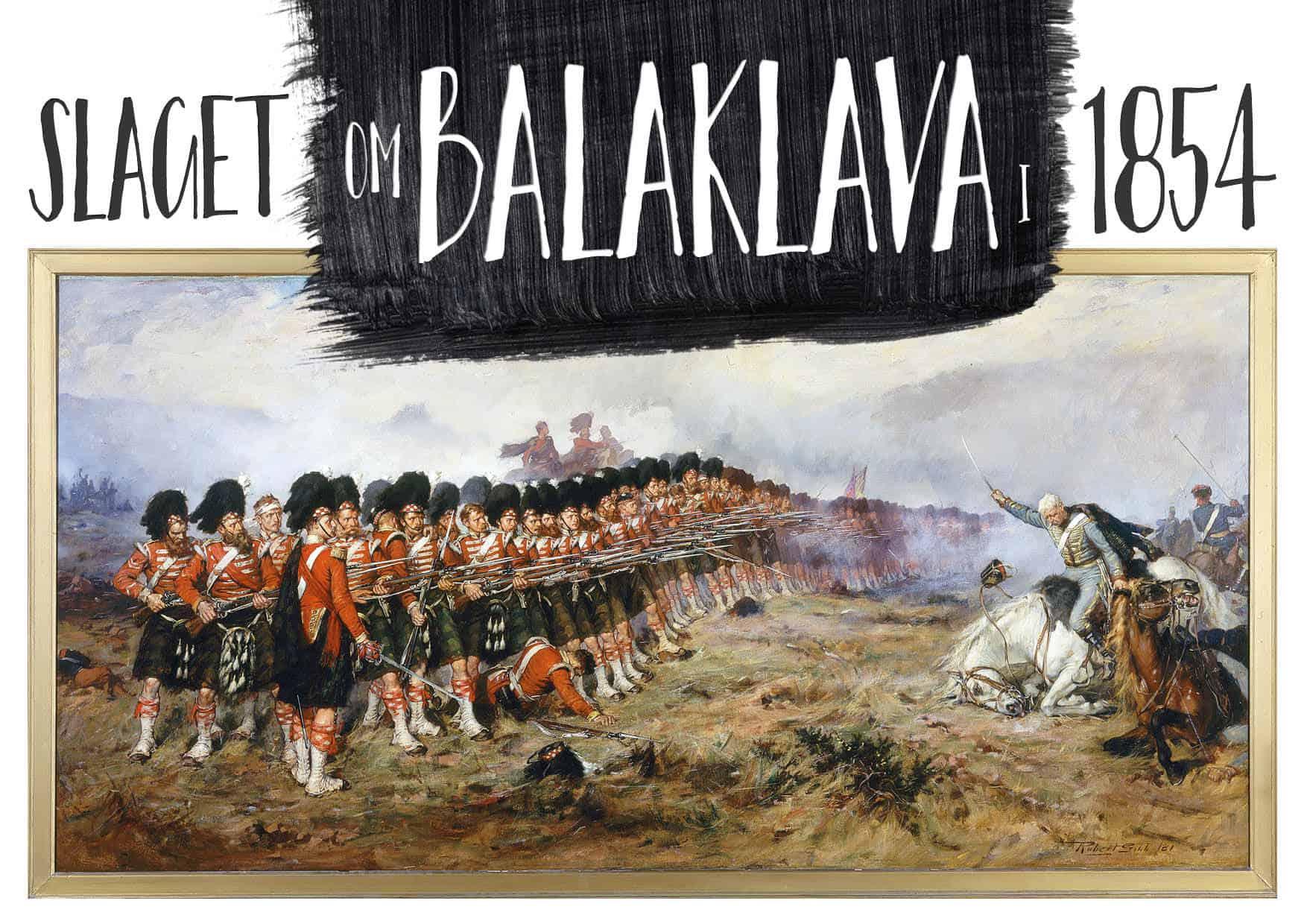 Slaget om Balaklava i 1854