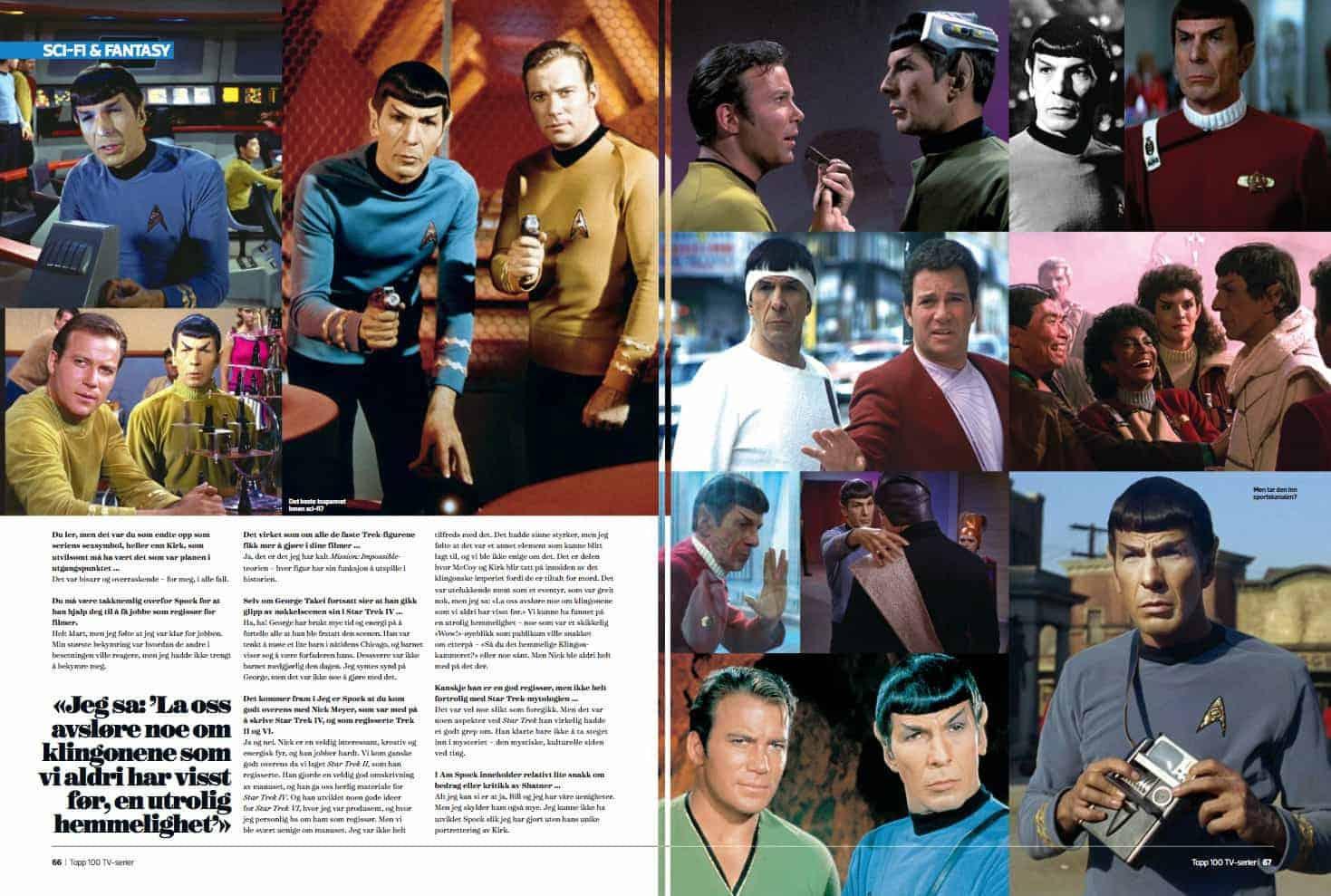 Spock, oppslag