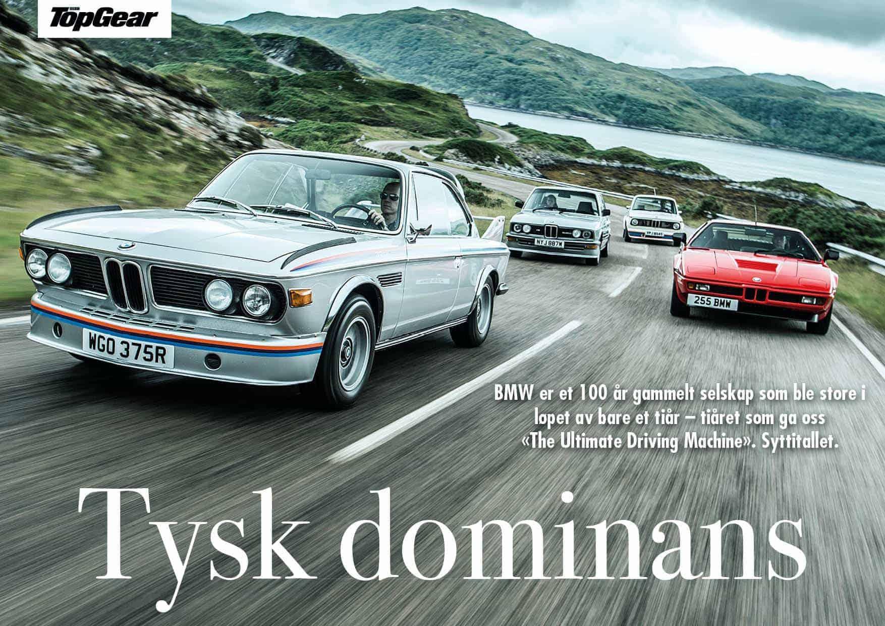 BMW: Tysk dominans