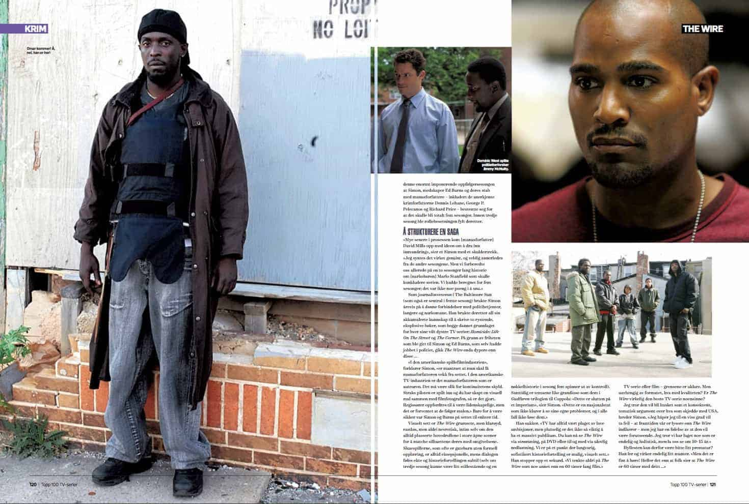 The Wire, oppslag
