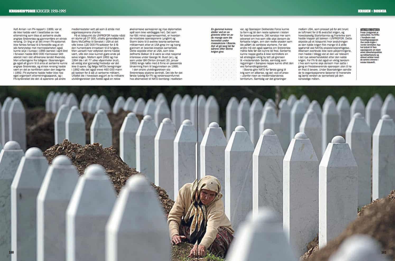 Krigen i Bosnia, oppslag