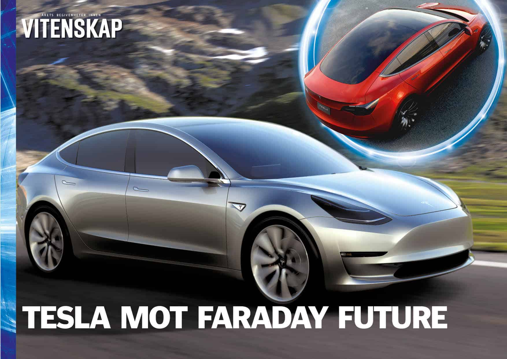 Tesla mot Faraday Future