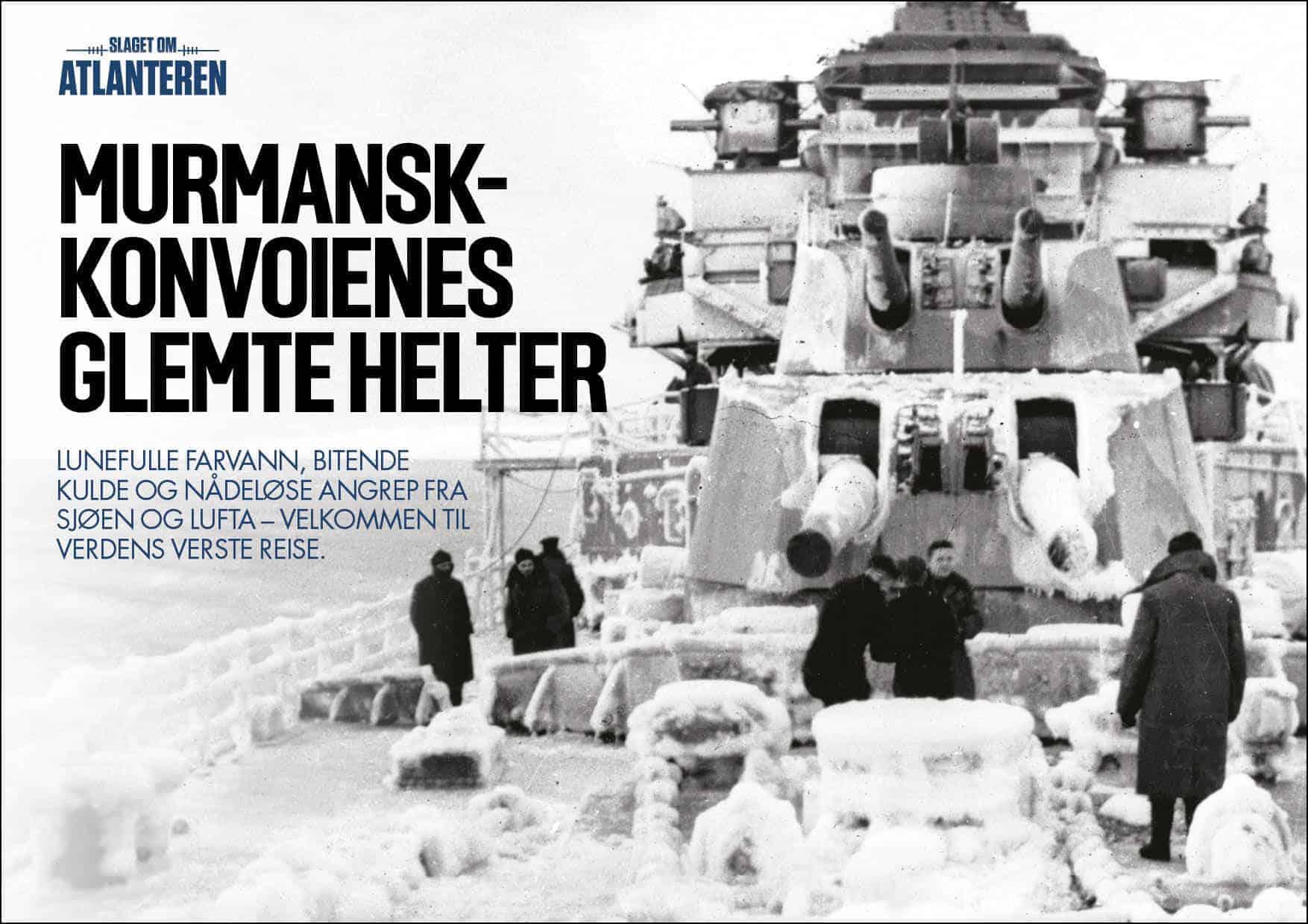 Murmansk-konvoienes glemte helter