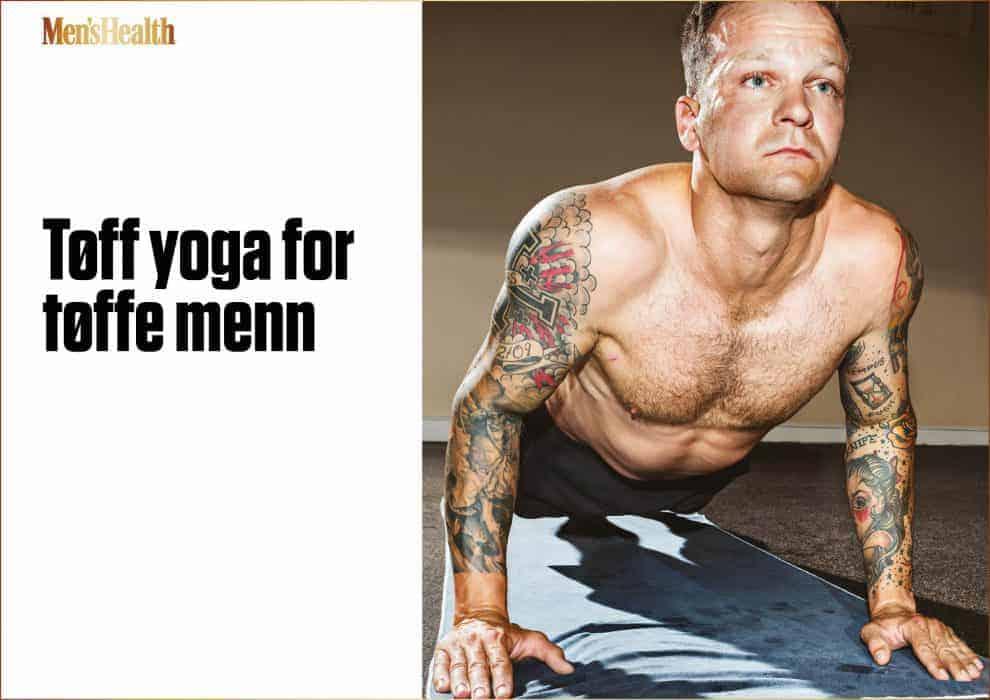 Tøff yoga for tøffe menn