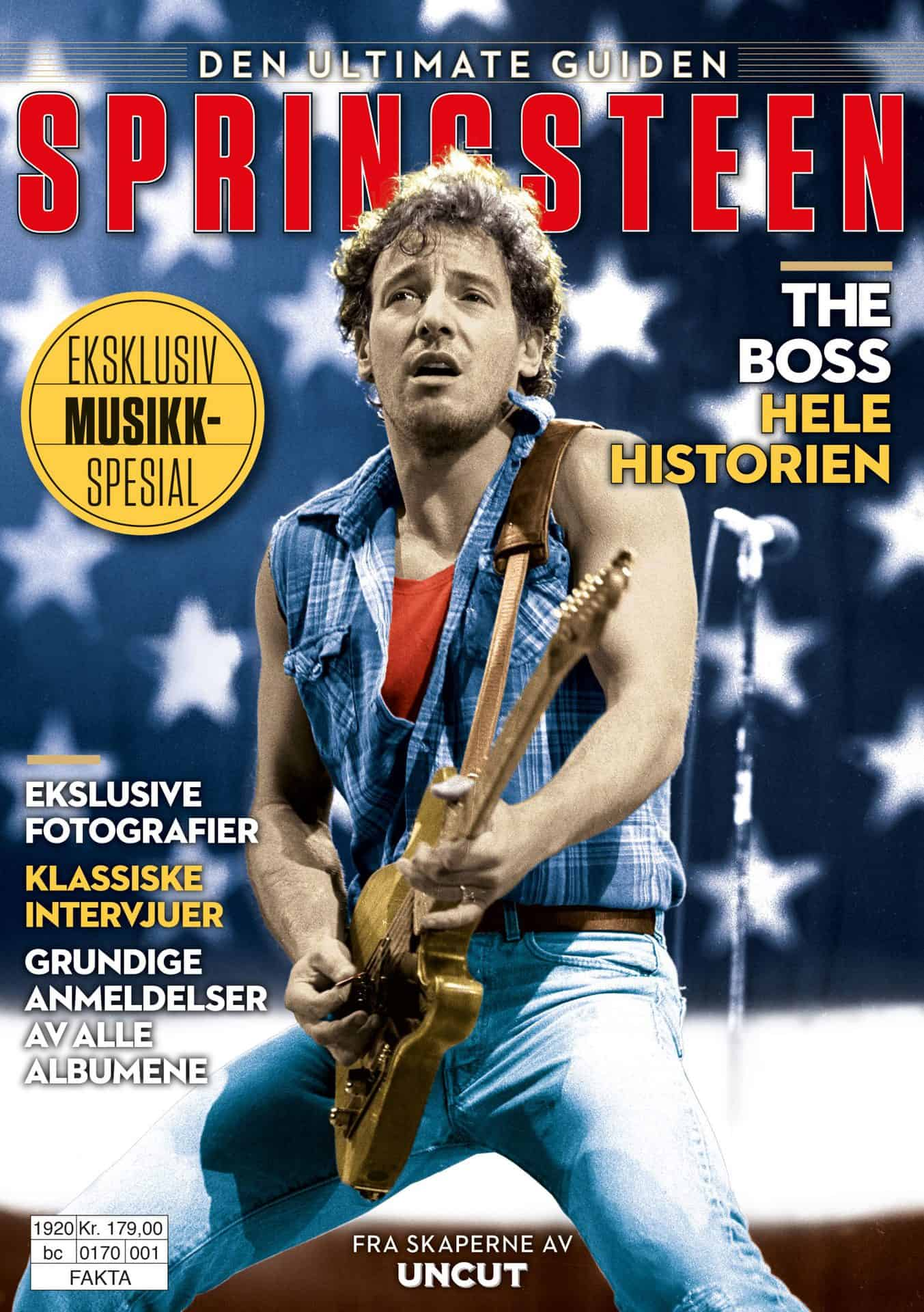Uncut: Bruce Springsteen – Den ultimate guiden